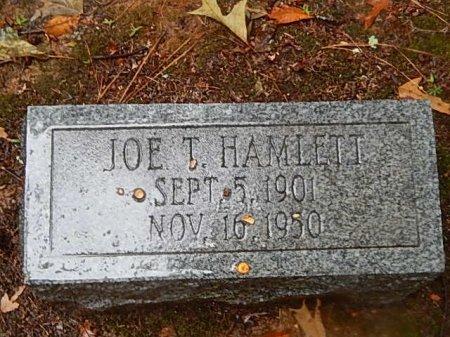 HAMLETT, JOE T - Shelby County, Tennessee   JOE T HAMLETT - Tennessee Gravestone Photos
