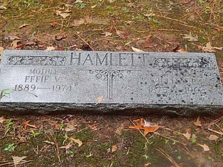 HAMLETT, WILLIAM AND EFFIE - Shelby County, Tennessee   WILLIAM AND EFFIE HAMLETT - Tennessee Gravestone Photos