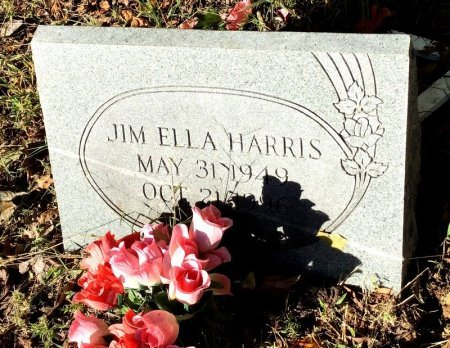 HARRIS, JIM ELLA - Shelby County, Tennessee | JIM ELLA HARRIS - Tennessee Gravestone Photos