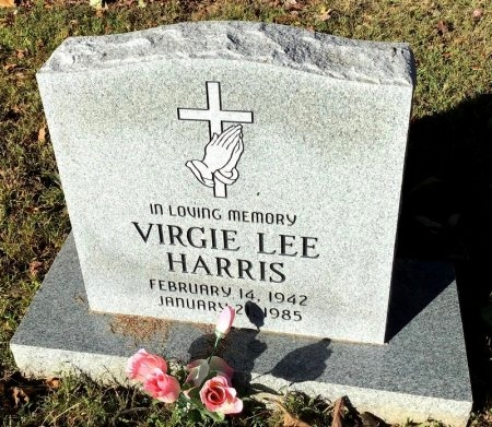 HARRIS, VIRGIE LEE - Shelby County, Tennessee | VIRGIE LEE HARRIS - Tennessee Gravestone Photos