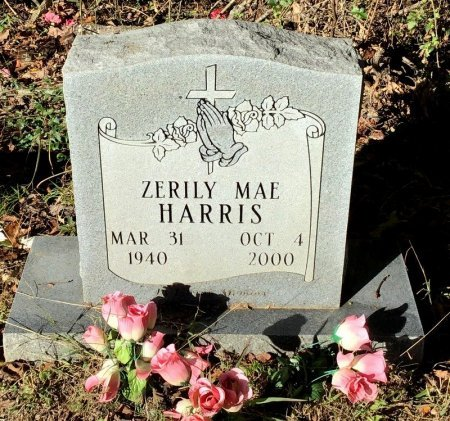 HARRIS, ZERILY MAE - Shelby County, Tennessee | ZERILY MAE HARRIS - Tennessee Gravestone Photos