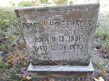 HINES HAYES, PEARL V - Shelby County, Tennessee | PEARL V HINES HAYES - Tennessee Gravestone Photos