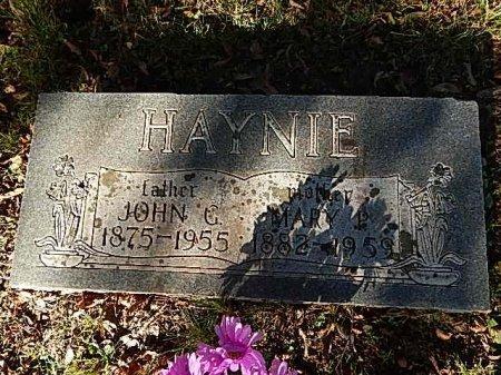 HAYNIE, JOHN G - Shelby County, Tennessee | JOHN G HAYNIE - Tennessee Gravestone Photos