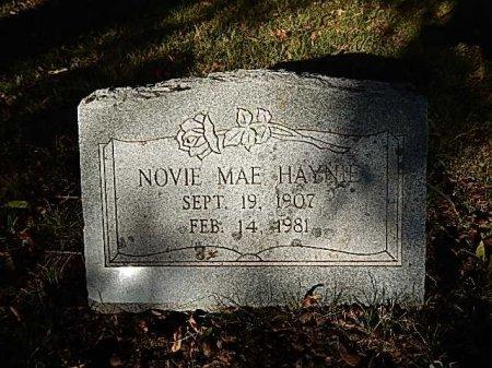 HAYNIE, NOVIE MAE - Shelby County, Tennessee   NOVIE MAE HAYNIE - Tennessee Gravestone Photos
