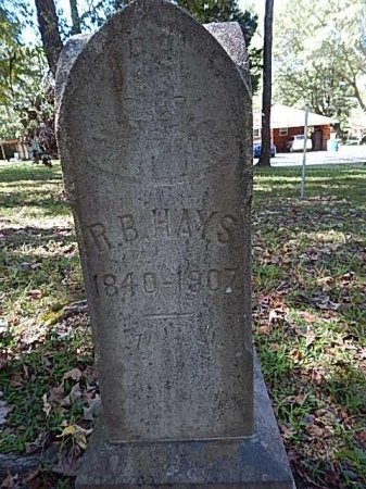 HAYS, ROBERT BUTLER - Shelby County, Tennessee | ROBERT BUTLER HAYS - Tennessee Gravestone Photos