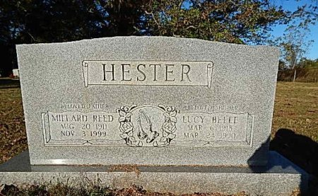 KENDRICK HESTER, LUCY BELLE - Shelby County, Tennessee | LUCY BELLE KENDRICK HESTER - Tennessee Gravestone Photos
