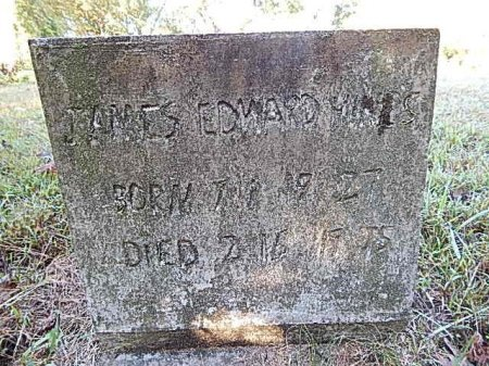 HINES, JAMES EDWARD - Shelby County, Tennessee | JAMES EDWARD HINES - Tennessee Gravestone Photos