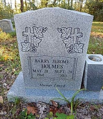 HOLMES, BARRY JEROME - Shelby County, Tennessee | BARRY JEROME HOLMES - Tennessee Gravestone Photos