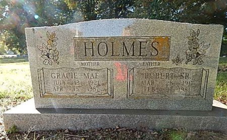 HOLMES, GRACIE MAE - Shelby County, Tennessee | GRACIE MAE HOLMES - Tennessee Gravestone Photos