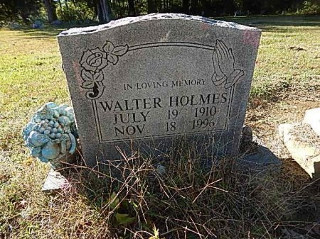 HOLMES, WALTER - Shelby County, Tennessee | WALTER HOLMES - Tennessee Gravestone Photos
