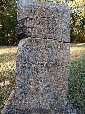 HOUSTON, HANNAH - Shelby County, Tennessee | HANNAH HOUSTON - Tennessee Gravestone Photos