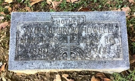 HOWELL, LYDIA - Shelby County, Tennessee | LYDIA HOWELL - Tennessee Gravestone Photos
