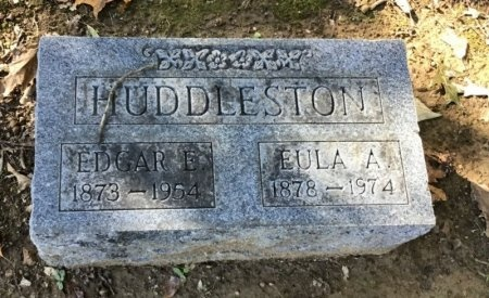 HUDDLESTON, EDGAR E. - Shelby County, Tennessee | EDGAR E. HUDDLESTON - Tennessee Gravestone Photos
