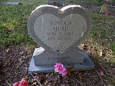 HURD, VONDA A - Shelby County, Tennessee | VONDA A HURD - Tennessee Gravestone Photos