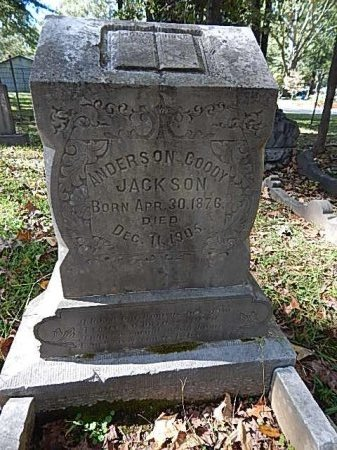 JACKSON, ANDERSON CODDY - Shelby County, Tennessee | ANDERSON CODDY JACKSON - Tennessee Gravestone Photos