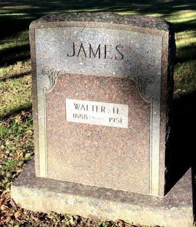 JAMES, WALTER H. - Shelby County, Tennessee | WALTER H. JAMES - Tennessee Gravestone Photos