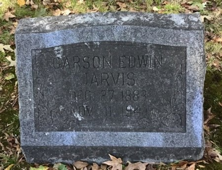 JARVIS, CARSON EDWIN - Shelby County, Tennessee | CARSON EDWIN JARVIS - Tennessee Gravestone Photos