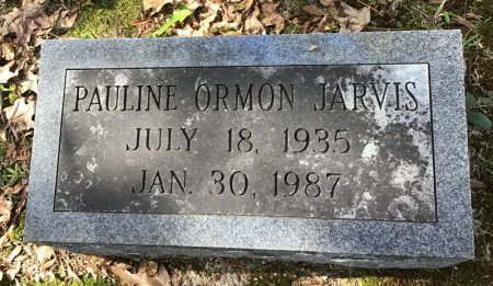 JARVIS, PAULINE - Shelby County, Tennessee | PAULINE JARVIS - Tennessee Gravestone Photos