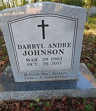 JOHNSON, DARRYL ANDRE - Shelby County, Tennessee | DARRYL ANDRE JOHNSON - Tennessee Gravestone Photos