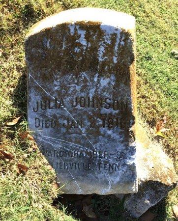JOHNSON, JULIA - Shelby County, Tennessee | JULIA JOHNSON - Tennessee Gravestone Photos