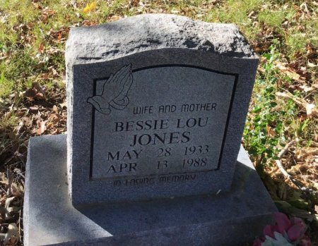 JONES, BESSIE LOU - Shelby County, Tennessee | BESSIE LOU JONES - Tennessee Gravestone Photos