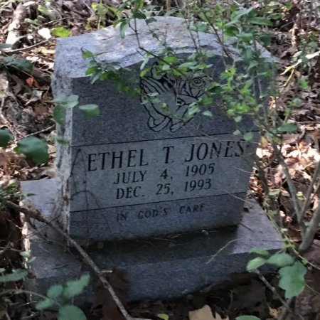 JONES, ETHEL T. - Shelby County, Tennessee | ETHEL T. JONES - Tennessee Gravestone Photos