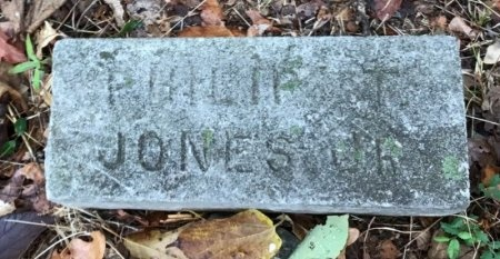 JONES, JR., PHILIP T. - Shelby County, Tennessee | PHILIP T. JONES, JR. - Tennessee Gravestone Photos