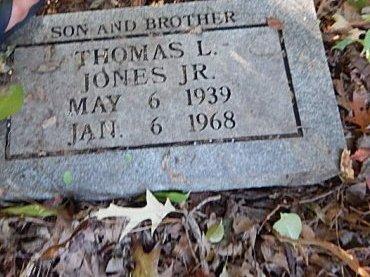 JONES JR, THOMAS L - Shelby County, Tennessee   THOMAS L JONES JR - Tennessee Gravestone Photos