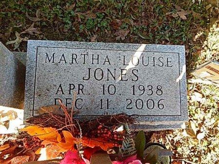 JONES, MARTHA LOUISE - Shelby County, Tennessee | MARTHA LOUISE JONES - Tennessee Gravestone Photos