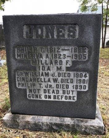 JONES, JR., PHILIP T. - Shelby County, Tennessee   PHILIP T. JONES, JR. - Tennessee Gravestone Photos