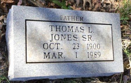 JONES, SR., THOMAS L. - Shelby County, Tennessee | THOMAS L. JONES, SR. - Tennessee Gravestone Photos