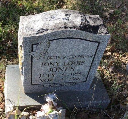 JONES, TONY LOUIS - Shelby County, Tennessee | TONY LOUIS JONES - Tennessee Gravestone Photos