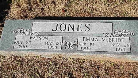 JONES, EMMA - Shelby County, Tennessee | EMMA JONES - Tennessee Gravestone Photos