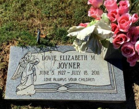 JOYNER, DOVIE ELIZABETH M. - Shelby County, Tennessee | DOVIE ELIZABETH M. JOYNER - Tennessee Gravestone Photos