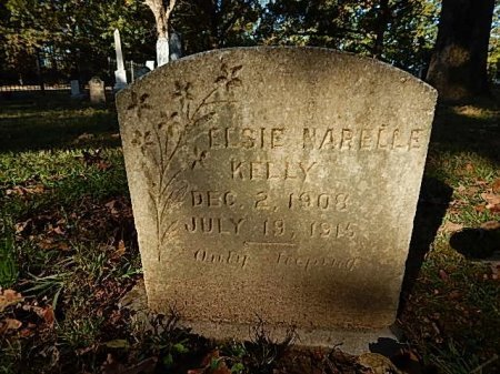 KELLY, ELSIE MARELLE - Shelby County, Tennessee | ELSIE MARELLE KELLY - Tennessee Gravestone Photos