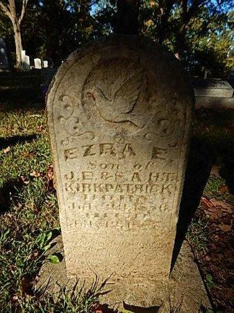 KIRKPATRICK, EZRA E - Shelby County, Tennessee | EZRA E KIRKPATRICK - Tennessee Gravestone Photos