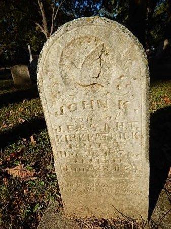 KIRKPATRICK, JOHN K - Shelby County, Tennessee | JOHN K KIRKPATRICK - Tennessee Gravestone Photos
