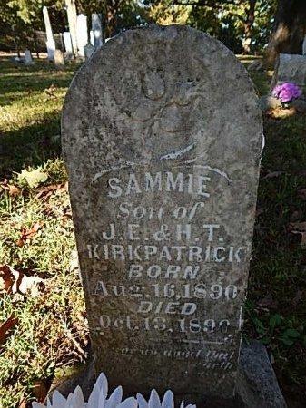 KIRKPATRICK, SAMMIE - Shelby County, Tennessee | SAMMIE KIRKPATRICK - Tennessee Gravestone Photos