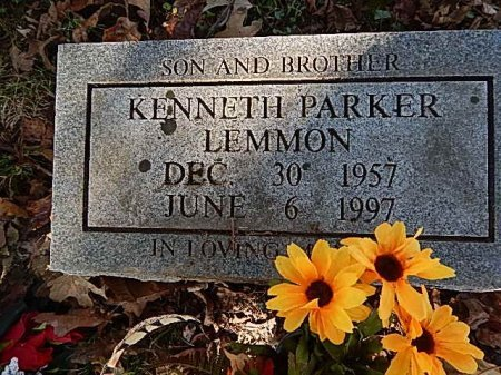 LEMMON, KENNETH PARKER - Shelby County, Tennessee | KENNETH PARKER LEMMON - Tennessee Gravestone Photos