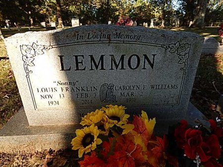 LEMMON, LOUIS FRANKLIN - Shelby County, Tennessee | LOUIS FRANKLIN LEMMON - Tennessee Gravestone Photos