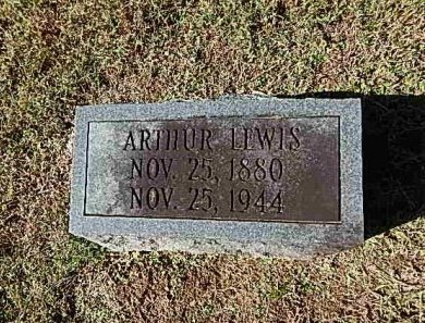 LEWIS, ARTHUR - Shelby County, Tennessee | ARTHUR LEWIS - Tennessee Gravestone Photos