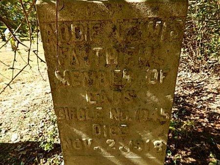 LEWIS, ADDIE - Shelby County, Tennessee   ADDIE LEWIS - Tennessee Gravestone Photos