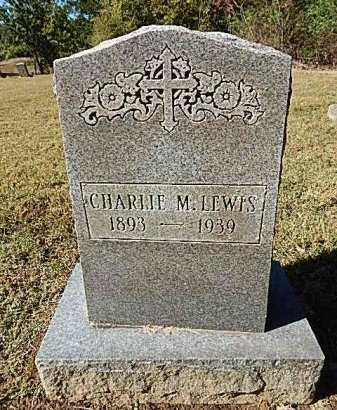 LEWIS, CHARLIE M - Shelby County, Tennessee | CHARLIE M LEWIS - Tennessee Gravestone Photos