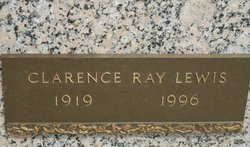 LEWIS, CLARENCE RAY - Shelby County, Tennessee   CLARENCE RAY LEWIS - Tennessee Gravestone Photos