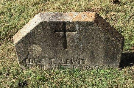 LEWIS, EDDIE T. - Shelby County, Tennessee   EDDIE T. LEWIS - Tennessee Gravestone Photos