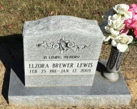 LEWIS, ELZORA - Shelby County, Tennessee | ELZORA LEWIS - Tennessee Gravestone Photos