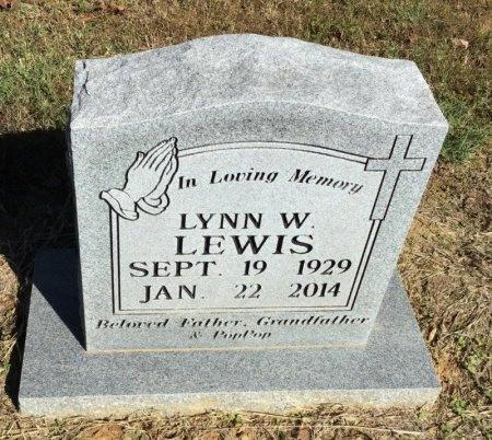 LEWIS, LYNN W. - Shelby County, Tennessee | LYNN W. LEWIS - Tennessee Gravestone Photos