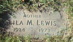 LEWIS, LILA M - Shelby County, Tennessee | LILA M LEWIS - Tennessee Gravestone Photos