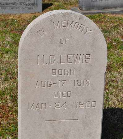 LEWIS, N.C. - Shelby County, Tennessee | N.C. LEWIS - Tennessee Gravestone Photos