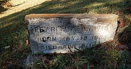 LEWIS, PEARL MAE - Shelby County, Tennessee | PEARL MAE LEWIS - Tennessee Gravestone Photos